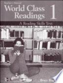 World Class Readings
