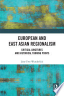European and East Asian Regionalism Book