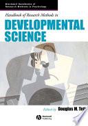 Handbook of Research Methods in Developmental Science