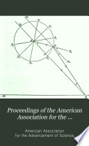 Proceedings Of The American Association For The Advancement Of Science Book PDF