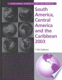 """South America, Central America and the Caribbean 2003"" by Europa Publications, Jacqueline West"