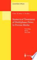 Numerical Treatment Of Multiphase Flows In Porous Media Book PDF