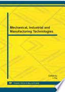 Mechanical  Industrial and Manufacturing Technologies