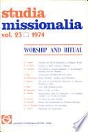 Studia Missionalia  Vol 23
