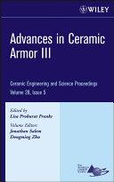 Advances in Ceramic Armor III
