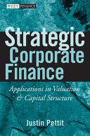 Strategic Corporate Finance [Pdf/ePub] eBook