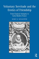 Pdf Voluntary Servitude and the Erotics of Friendship Telecharger
