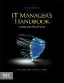 Pdf IT Manager's Handbook Telecharger