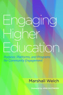Engaging Higher Education