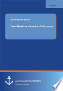 Power Quality And Industrial Performance Book PDF