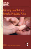 Primary Health Care: People, Practice, Place Pdf