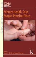 Primary Health Care: People, Practice, Place Pdf/ePub eBook