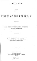 Catalogue of the Fishes of the Bermudas