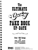 The Ultimate Country Fake Book Up date