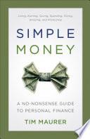Simple Money Book