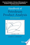 Handbook Of Petroleum Product Analysis Book PDF