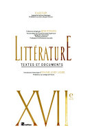 Littérature, textes et documents