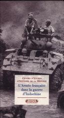 L'armée française dans la guerre d'Indochine (1946-1954)