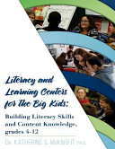 Literacy and Learning Centers for the Big Kids