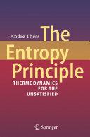 The Entropy Principle Pdf/ePub eBook