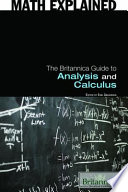 The Britannica Guide to Analysis and Calculus Book