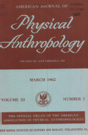 AMERICAN JOURNAL OF PHYSICAL ATHROPOLOGY