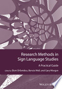 Research Methods in Sign Language Studies