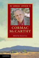 The Cambridge Companion to Cormac McCarthy ebook