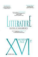 Littérature : textes et documents. XXe siècle. - [Hauptbd.]