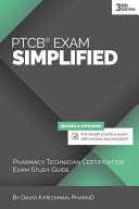 PTCB Exam Simplified: Pharmacy Technician Certification Exam Study Guide