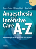 Cover of Anaesthesia and Intensive Care A-Z