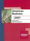 Hoover's Handbook of American Business 2007