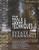 The Tools   Techniques of Estate Planning