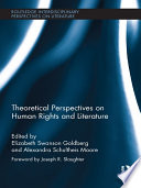 Theoretical Perspectives on Human Rights and Literature Book
