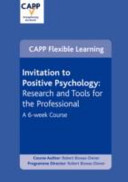 Invitation to Positive Psychology Coaching