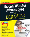 """Social Media Marketing All-in-One For Dummies"" by Jan Zimmerman, Deborah Ng"