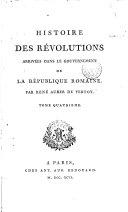 Histoire des révolutions arrivées dans le gouvernement de la République romaine ebook