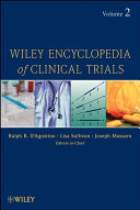 Wiley Encyclopedia of Clinical Trials Book