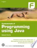 Fundamentals Of Programming Using Java