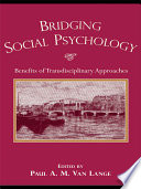 Bridging Social Psychology