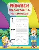 Number Tracing Book for Preschoolers 1 20