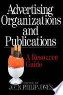 Advertising Organizations and Publications Book