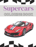 Supercars Coloring Book