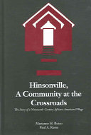 Hinsonville  a Community at the Crossroads