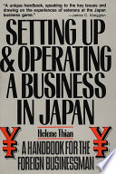 Setting Up Operating A Business In Japan
