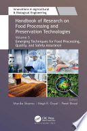Handbook of Research on Food Processing and Preservation Technologies