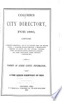 Columbus City Directory