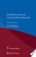 Constitutional Law In Switzerland