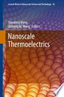 Nanoscale Thermoelectrics