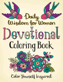 Daily Wisdom for Women Devotional Coloring Book